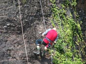Abseiling at Sannox