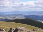 View from the summit of Ben Cleuch