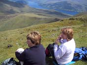 Looking down to Loch Tay
