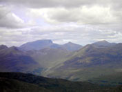 Ben Nevis from the summit of the Big Buachaille