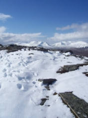 From summit of Gael-charn