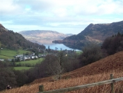 Ullswater in distance