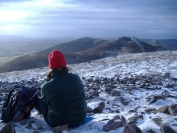 lunchtime on carnethy hill