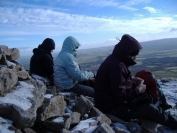well earned rest on carnethy hill