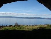 Kintyre from the caves