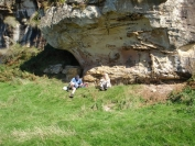 At the Kings Caves, Blackwaterfoot