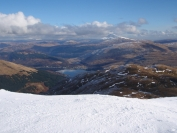 stunning view of Ben Lomond