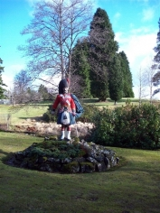Black Watch statue at Forrest Lodge