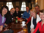 The B team in the pub
