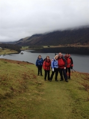 leaving Crummock Water