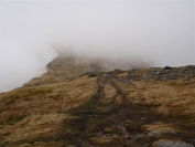 ridge in the mist
