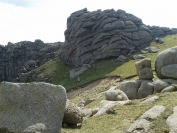Granite formations on The Castles