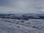 Penicuik in the distance