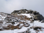 memorial near the summit