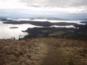 Islands on Loch Lomond