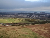 Looking towards Edinburgh