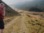 track to Benmore Burn