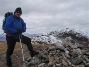 Robin on Beinn a Chroin
