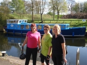 girls beside the canal