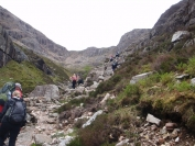 heading up coire