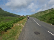 that awful hill to Lochranza