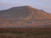 Ingleborough at dusk