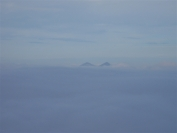 Ben More and Stob Binnien above the clouds