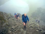 On Striding Edge - Helvellyn