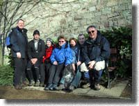 New Town Trail Group - without John who had gone shopping !!